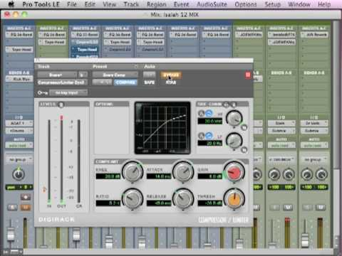 Mixing Drums - TheRecordingRevolution.com
