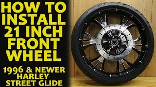 8. How to Install 21 Inch Front Wheel Harley Davidson Bagger