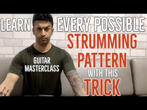 Learn EVERY POSSIBLE Strumming Pattern with this SECRET - Guitar Masterclass