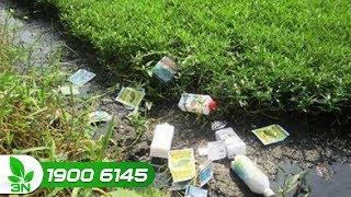 Khoa học nông nghiệp | Ô nhiễm đất do dùng thuốc bảo vệ thực vật tràn lan
