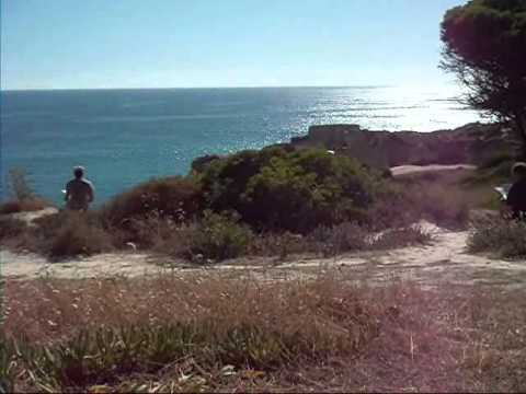 Landschaft Malen am Algarve