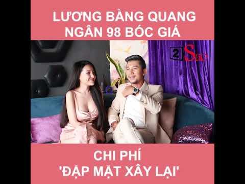 Lương Bằng Quang và Ngân 98 bóc giá PTTM khuôn mặt - Thời lượng: 112 giây.