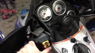 5. 04 GSX 800 Skidoo estart fixed and running