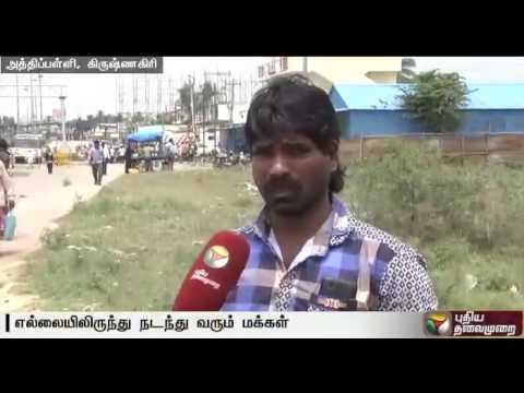 No-transportation-across-TN-Karnataka-border-for-the-17th-day
