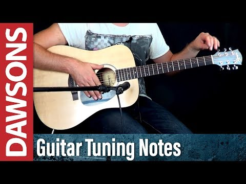 Guitar Tuning Notes Played on a Martin Acoustic