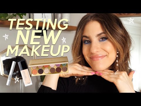 Testing FULL FACE of NEW Makeup: Drugstore & High End | Jamie Paige