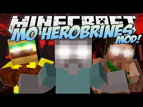 Minecraft | HEROBRINES MOD! (Dr Trayaurus Captures Herobrine!) | Mod Showcase