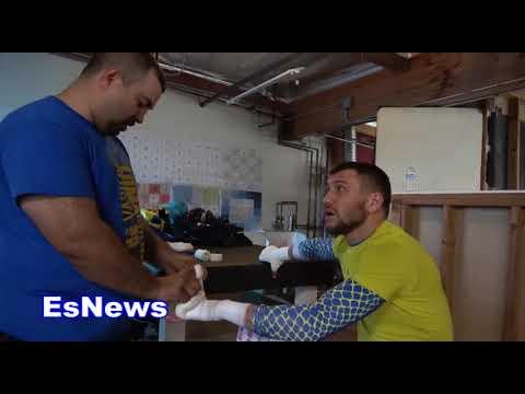Vasyl Lomachenko Asked About Sparring Ryan Garcia EsNews Boxing (видео)