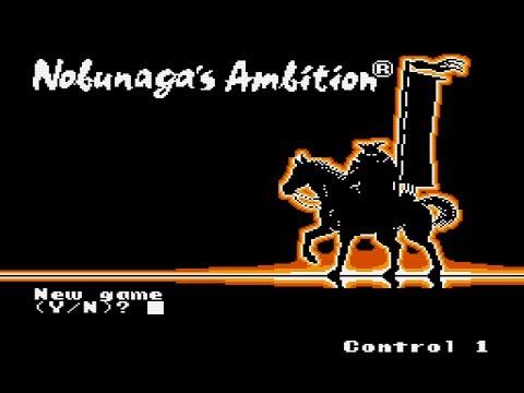 nobunaga's ambition nes walkthrough