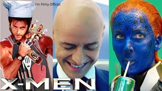 Video X-Men Series Hilarious Bloopers and Gag Reel - Try Not To Laugh With Hugh Jackman MP3, 3GP, MP4, WEBM, AVI, FLV April 2019