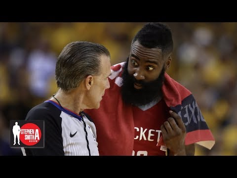 Video: The Rockets fall apart when James Harden doesn't get foul calls | Stephen A. Smith Show