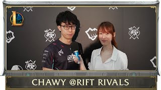 Spout 360 spoke to AHQ Chawy at Rift Rivals Red on the LMS Summer Split, the importance of communication and why his teammates don't want to room with him.