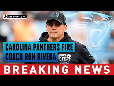 Carolina Panthers fire coach Ron Rivera after eight-plus seasons | Breaking News | CBS Sports HQ