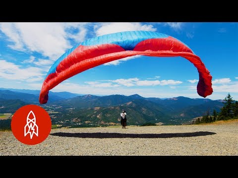 Competitive Paragliding is Not for the Faint Hearted