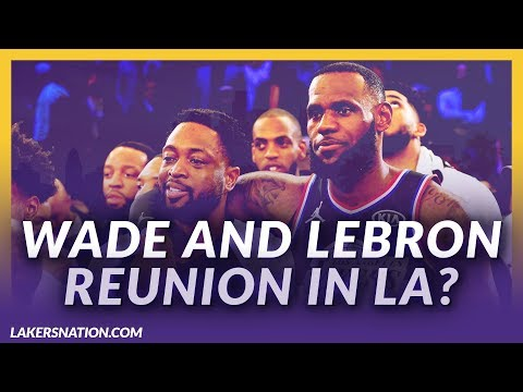 Video: Lakers News Feed: Wade Doesn't Rule Out Possible Reunion With LeBron James