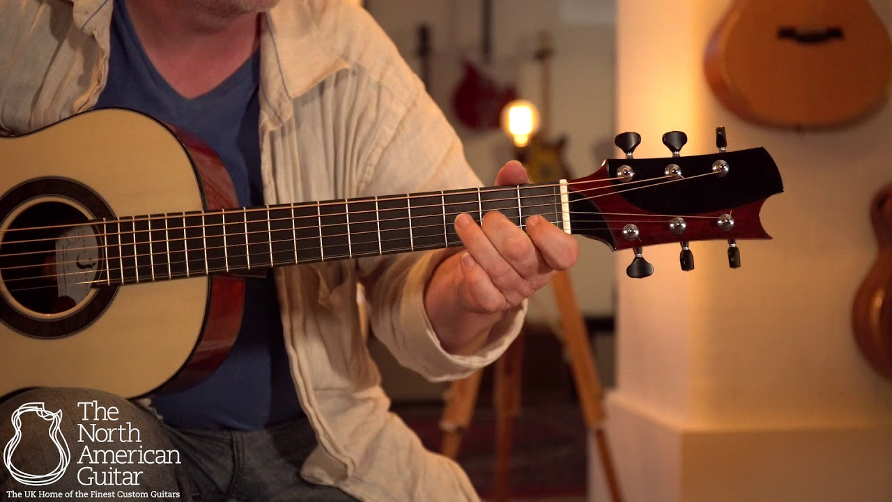 Kostal 00 Acoustic Guitar Played By Tony McManus