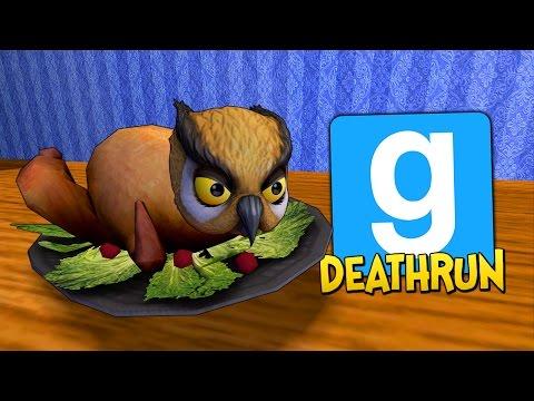 Gmod Deathrun Funny Moments - Thanksgiving Edition! (Garry's Mod) (видео)