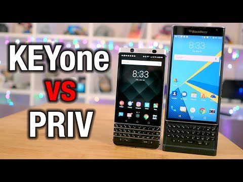 BlackBerry KEYone vs Priv: From RIM to TCL, was this the right move?