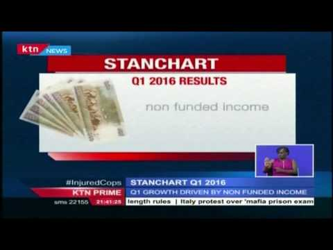 Stanchart Bank Kenya announces their 2016 quarter 1 results