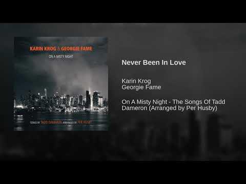 Never Been In Love online metal music video by KARIN KROG