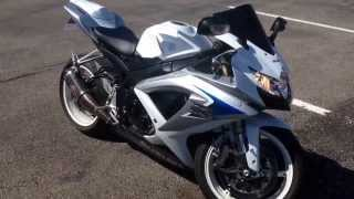 3. My 2008 Suzuki GSXR600 Walkaround