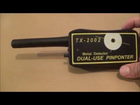 Metal Detector.(pinpointer) TX 2002 .Review