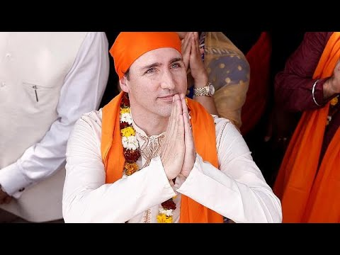 Justin Trudeau moqué pour sa communication à la sauce indienne