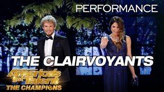 Video The Clairvoyants: Mind-Readers Reveal Judges' Love Lives - America's Got Talent: The Champions MP3, 3GP, MP4, WEBM, AVI, FLV Februari 2019