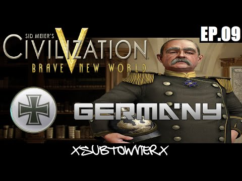 Civ 5 - Germany Gameplay [p9] - Hard Times Ahead