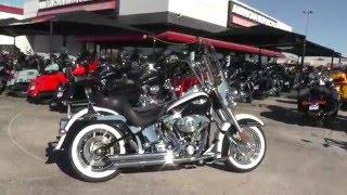 1. 046632 - 2006 Harley Davidson Softail Deluxe FLSTNI - Used Motorcycle For Sale