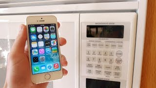 Charge your iPhone 5S in 3 Seconds! (Microwave)