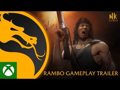 Mortal Kombat 11 Ultimate   Official Rambo Gameplay Trailer