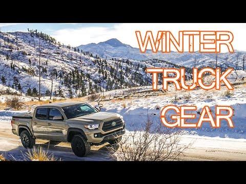 Winter Truck Gear - Emergency Car Gear (snow / cold specific) - Tacoma Survival Gear