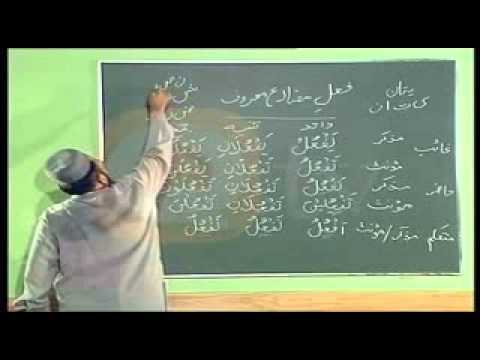 urdu arabic grammar class - Learn Arabic Grammar in Urdu - اردو زبان میں عربی گرائمر سیکھۓ - Lesson 9.