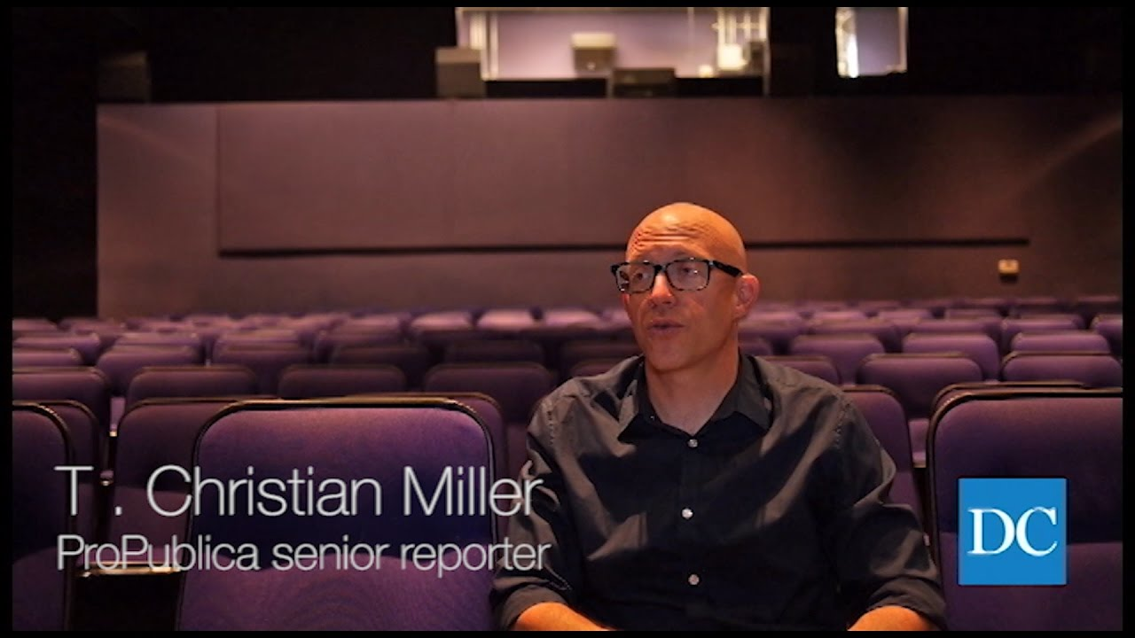 Interview with Pulitzer Prize winner T. Christian Miller