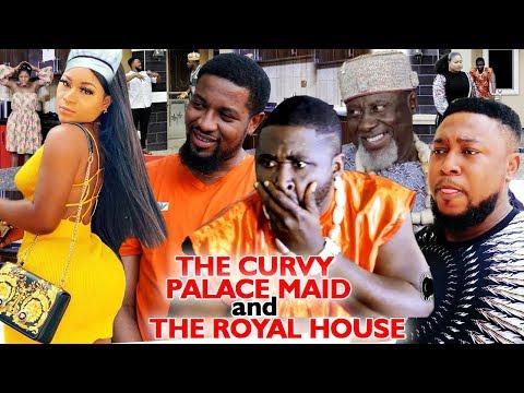 THE CURVY PALACE MAID & THE ROYAL HOUSE NEW MOVIE HIT  (Destiny Etiko) 2020 Latest Nigerian Movie