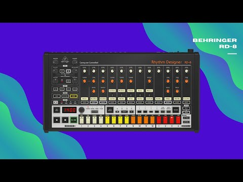 Behringer RD-8   Techno & House (No Talking)
