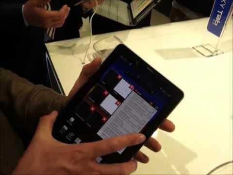 Video: Samsung Galaxy Tab 7.7: Anteprima Samsung Galaxy Tab 7.7