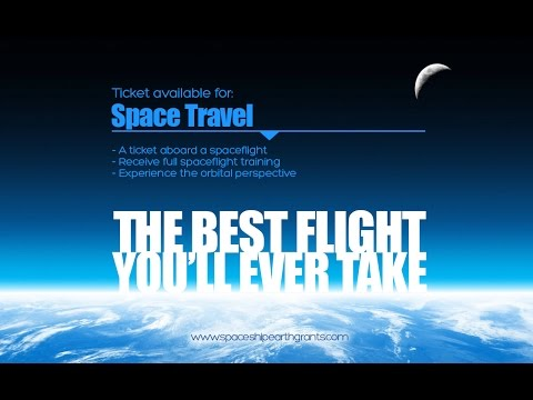 Live Your Dream! Apply to Fly To Space