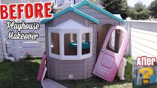 Video DIY Playhouse Makeover BEFORE and AFTER MP3, 3GP, MP4, WEBM, AVI, FLV September 2019