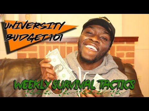 UNIVERSITY BUDGET 101: HOW TO SURVIVE UNI ON A WEEKLY BUDGET!