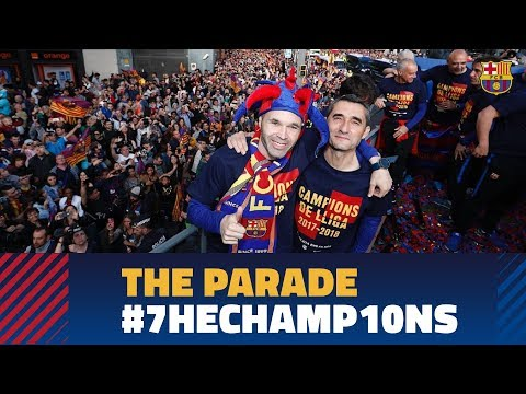 FULL STREAM | #7heChamp10ns victory parade 2018