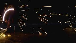 Fire Show At Vongdeuan Beach Koh Samet Island 2014 Rayong Thailand Lifestyle Video Reviews.27