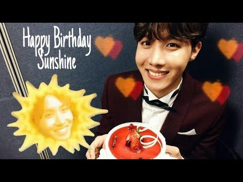 Birthday messages - Happy Birthday J-Hope!!! ft ARMYs Messages  Dahi
