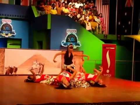 Video Let's Dance Institute Chennai. Cheer Leading Dance Style for Star Vijay TV download in MP3, 3GP, MP4, WEBM, AVI, FLV January 2017