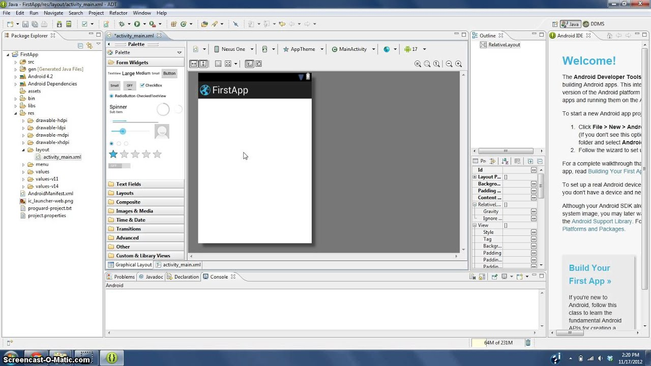 Descargar How to make an android app NO PROGRAMMING SKILLS NEEDED pt 1 para celular #Android