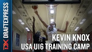 Kevin Knox 2015 USA U16 Training Camp Footage