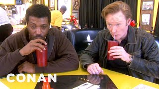 Video Conan & Deon Cole's Soul Food Adventure - CONAN on TBS MP3, 3GP, MP4, WEBM, AVI, FLV Oktober 2018