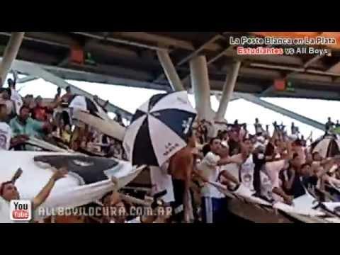 La Peste Blanca en el Estadio Ciudad de La Plata - La Peste Blanca - All Boys