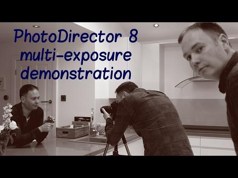 Cyberlink PhotoDirector 8 Multi  Exposure Image Demonstration